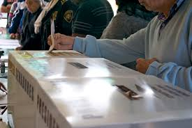 Urna para votar